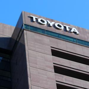 トヨタは3日続落、1ドル=111円近辺の急速な円高進行を嫌気