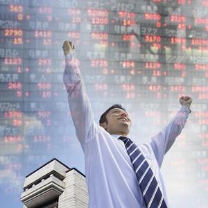 丸八証券が大幅高、上期営業利益は2.5倍