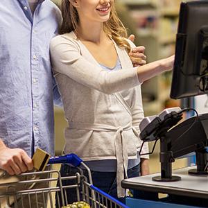 「セルフレジ」が9位にランクイン、消費増税に伴う還元策で脚光<注目テーマ>