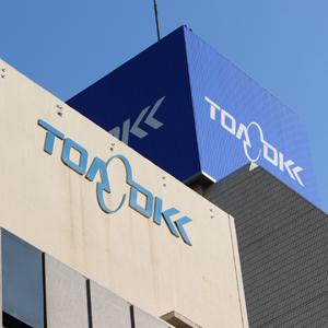 東亜DKKが大幅高、第3四半期営業益47%増で通期計画進捗率84%
