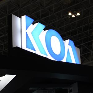 KOAが反落、中国向け落ち込み第2四半期61%営業減益