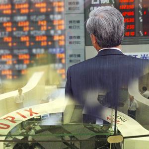 日経レバは売買代金トップで一時3%超の上昇、主力ハイテク株中心の戻り相場に乗る