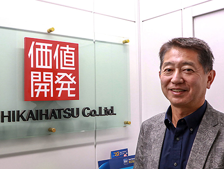 価値開発株式会社代表取締役社長 梅木篤郎氏