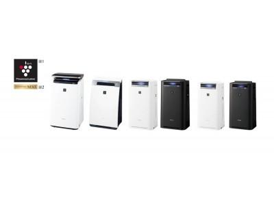 プラズマクラスター加湿空気清浄機4機種を発売