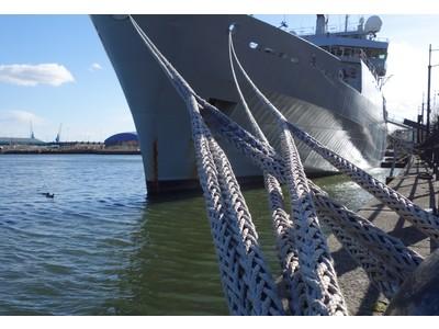ナイロン製船舶係留用ロープのマテリアルリサイクル事業開始のお知らせ