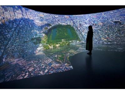 """歴史・文化資源を活用した""""映像空間ソリューション""""を提供開始 世界文化遺産「百舌鳥・古市古墳群」を体感できる映像空間を構築"""