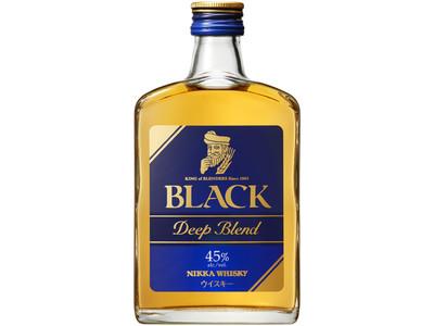 『ブラックニッカ ディープブレンド 瓶・180ml』2021年3月16日新発売『ブラックニッカ クリア 紙パック1,800ml』パッケージリニューアル