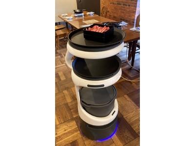 サッポロビール園で配膳・運搬ロボット「Servi」を導入